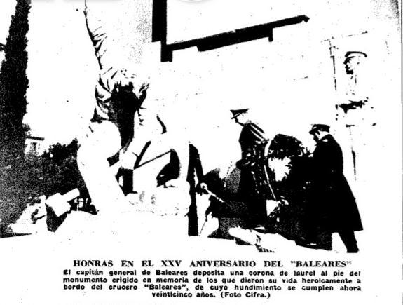 Un espai de perpètua memòria feixista? (font: ABC, 8 de març de 1963)