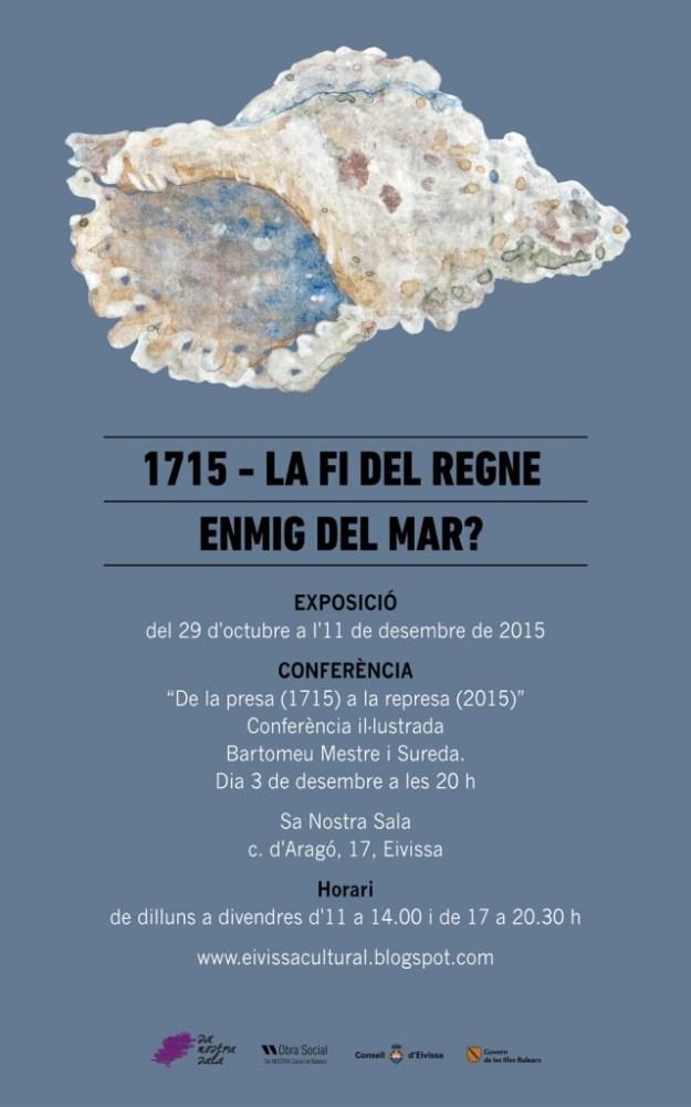 Cartell de l'exposició a Eivissa