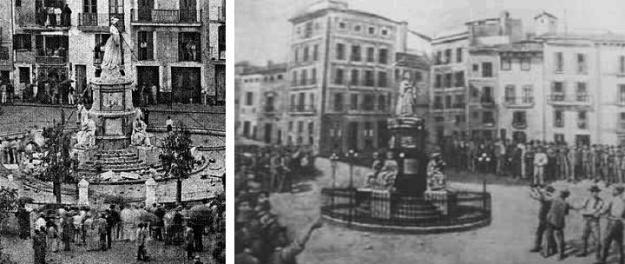 Imatges de la demolició