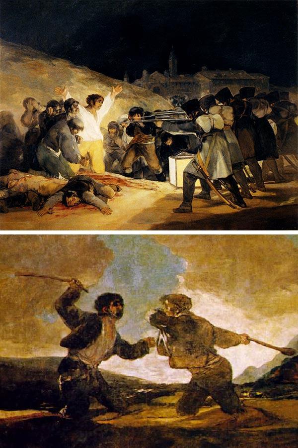 La Feixina. Imatge d'afusellaments i de guerra-incivilisme.