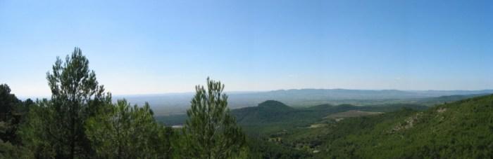 Excursió per l'interior del País Valencià a l'octubre del 2007.