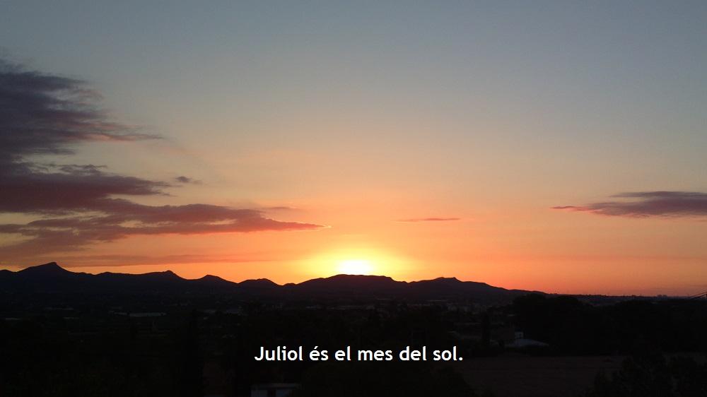 """Aigua de Juliol, encén el sol"" (meteorresum de Juliol del 2014)"
