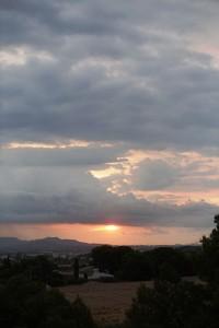 Alba del 10/08/2016, a les 07:22 h, des de La Conarda.