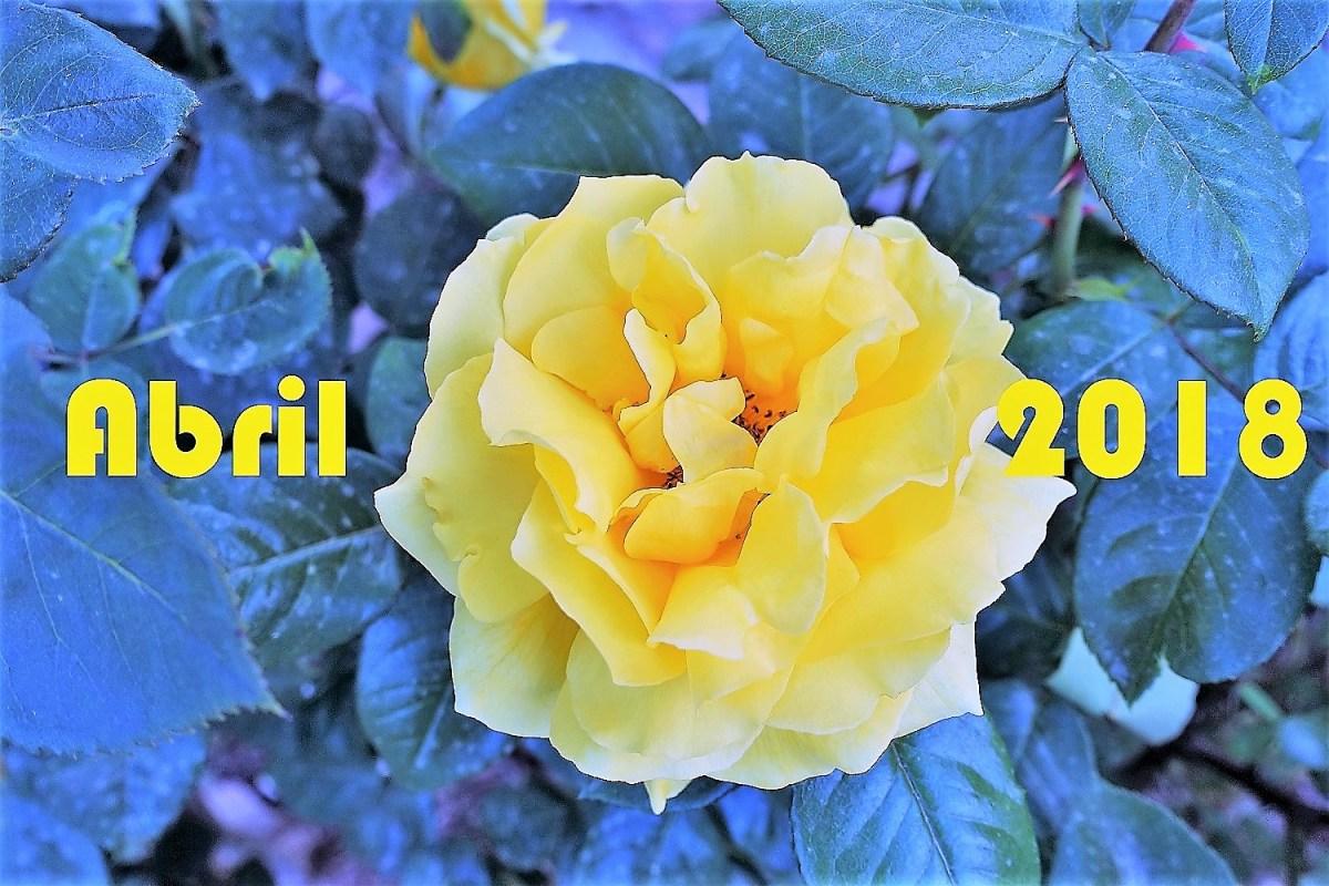 """""""Abril, aigua poca i núvols mil"""". De refranys i meteorologia d'abril, 2018."""