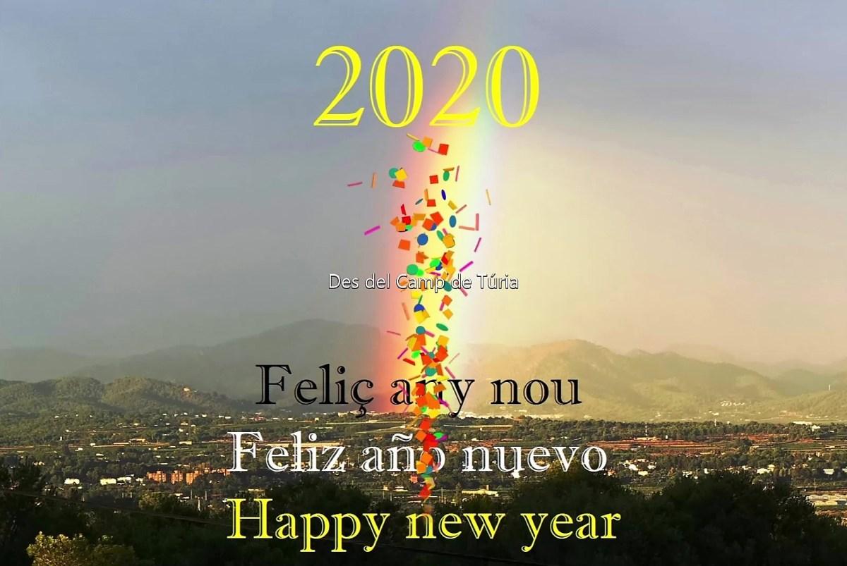 """""""Per Ninou, tracte nou"""". Breu prospectiva inicial del 2020 i retrospectiva meteorològica del 2019 des del Camp de Túria."""