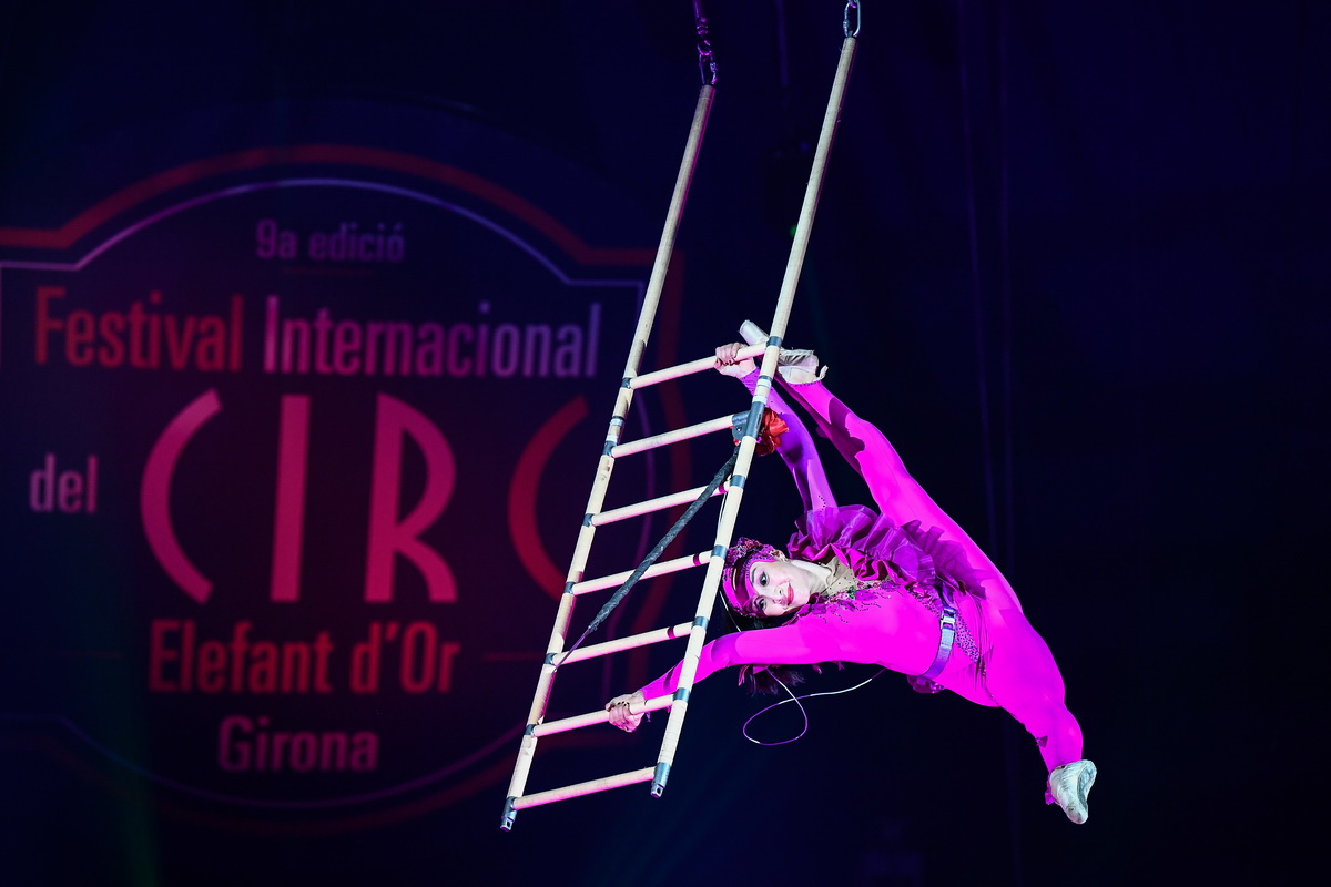 El Festival de Circ Elefant d'Or de Girona s'emet per primera vegada íntegrament