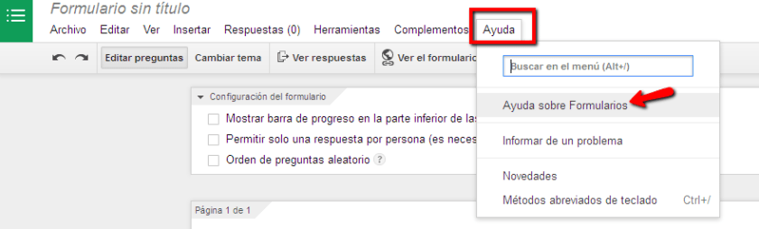 Google formularis