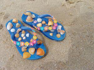 flip flops shells
