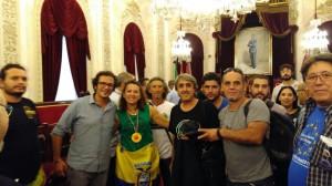 En el Ayuntamiento de Cadiz