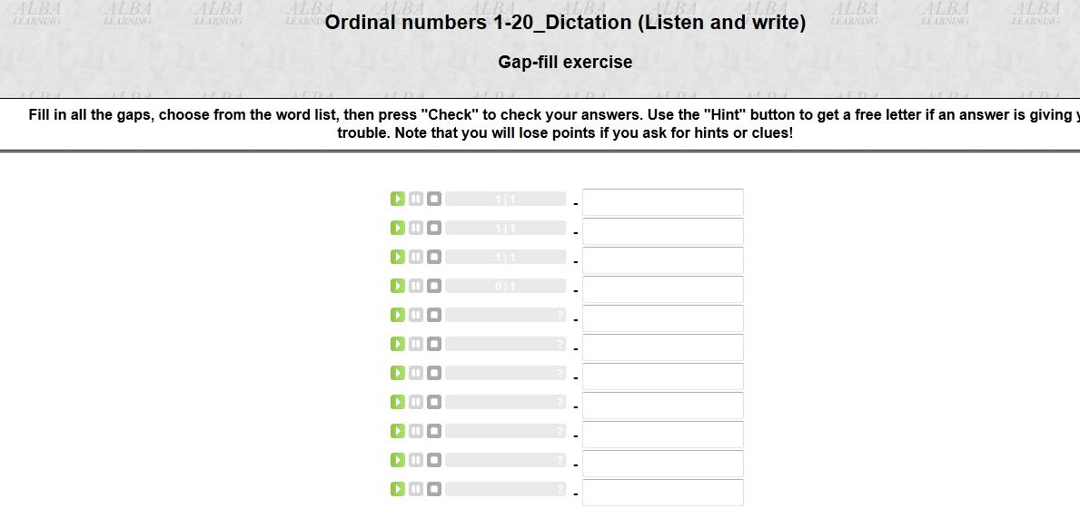 Ordinal numbers what in english the last number is 18th there is a mistake ibookread PDF