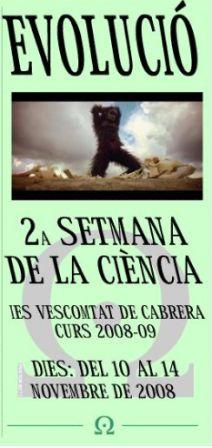 Setmana de la Ciència a l'IES Vescomtat