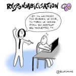 #cartoon : Responsabilisation