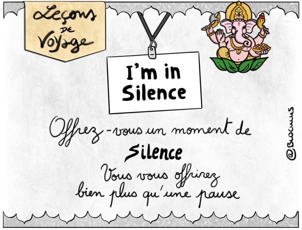 #cartoon : Offrez-vous un moment de silence