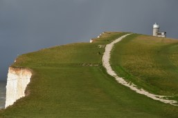 Beachy head is located off the South Downs Way