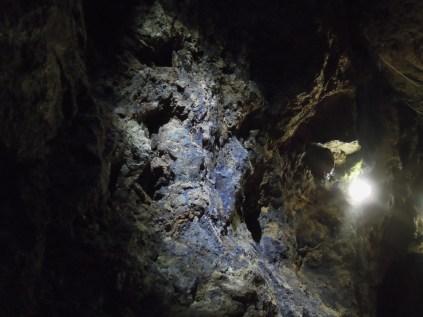 First Blue John found at Treak Cavern
