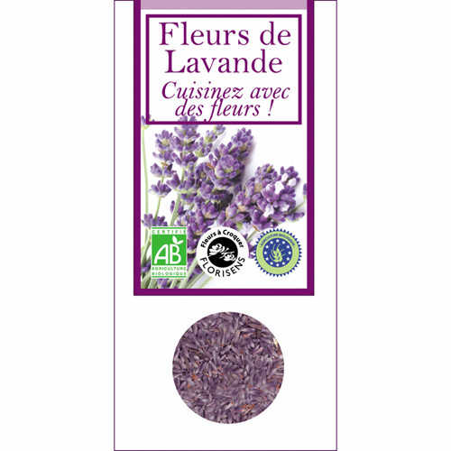 Aromandise Eetbare bio bloemen - lavendel
