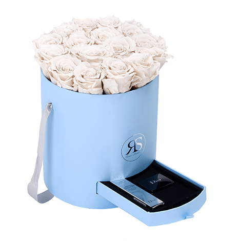 Flowerbox Longlife Fajah Weiß