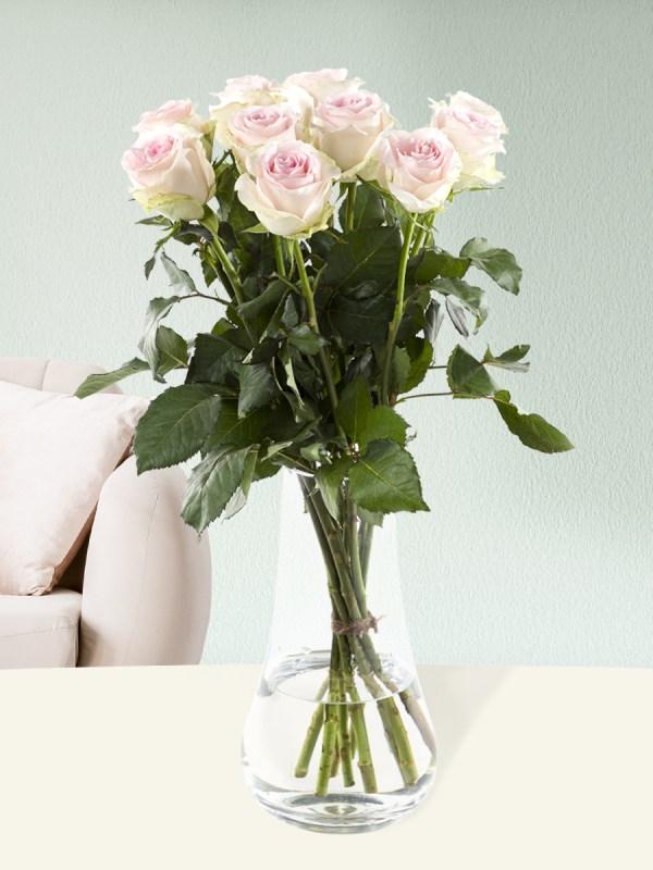 10 zachtroze rozen - Sweet Revival  Rozen online bestellen & versturen   Surprose.nl