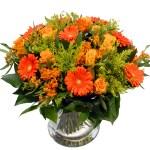 Bloemen boeket Oranje - Geel bestellen of bezorgen