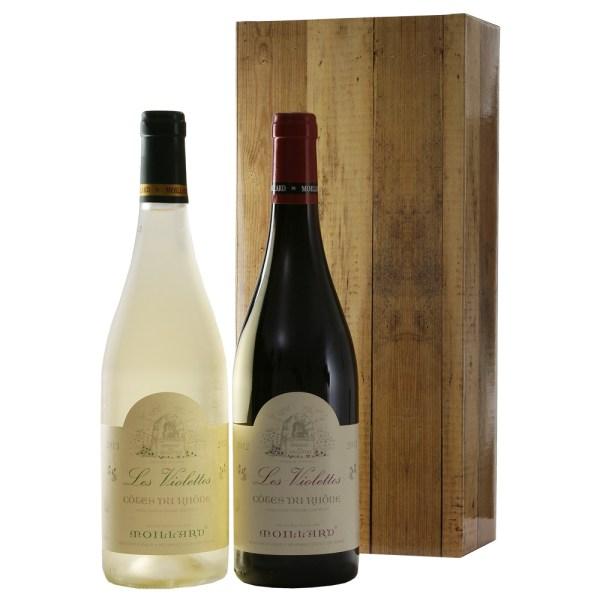 Cotes Du Rhone rode en witte wijn bestellen of bezorgen