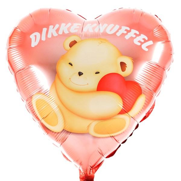 Dikke knuffel ballon versturen bestellen of bezorgen