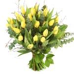 Gele paas tulpen bestellen of bezorgen