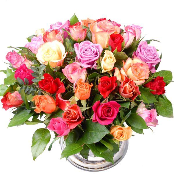 Gemengde rozen bestellen of bezorgen
