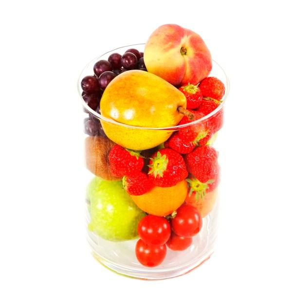 Glazen vaas met fruit bestellen bestellen of bezorgen