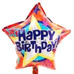 Happy Birthday ster ballon bestellen bestellen of bezorgen