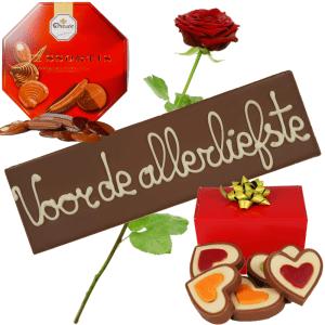 Liefde chocolade pakket bestellen bestellen of bezorgen