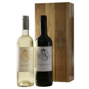 Marqués rode en witte wijn bestellen of bezorgen