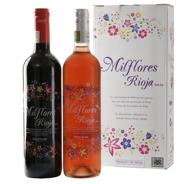 Milflores Rioja rode en rosé wijn bestellen of bezorgen