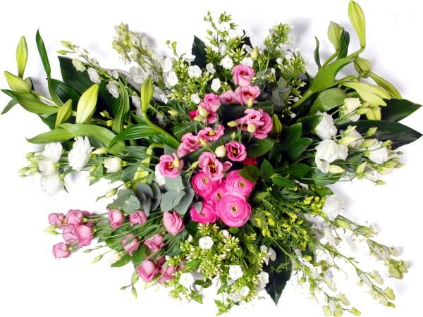 Modern roze - wit bestellen of bezorgen