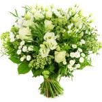 Moederdag boeket witte bloemen bestellen of bezorgen