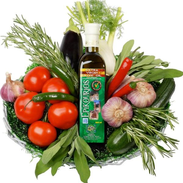 Olijf mediterrane (fruit) mand bestellen of bezorgen