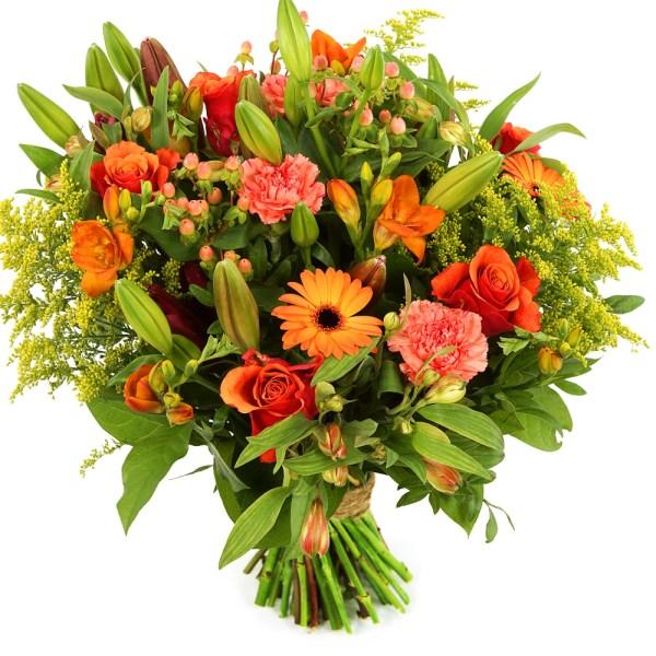 Oranje bloemen bestellen bestellen of bezorgen