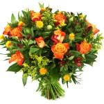 Oranje rozen en bloemen bestellen of bezorgen