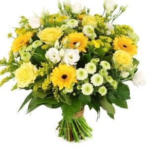 Paasbloemen geel wit bestellen of bezorgen