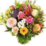 Pastel bonte bloemen bezorgen bestellen of bezorgen