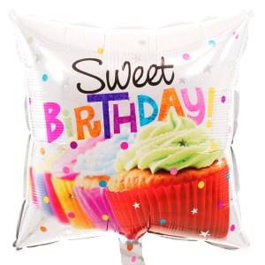 Sweet Birthday heliumballon bestellen bestellen of bezorgen