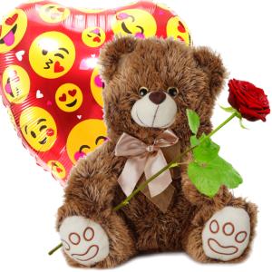 Knuffelbeer en Heliumballon bezorgen bestellen of bezorgen