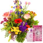 Moederdag plukboeket + bloemen parfum bestellen of bezorgen