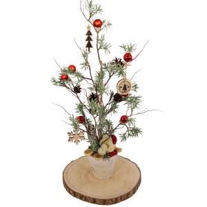 Kunstkerstboom compleet met versiering bestellen of bezorgen