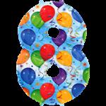 Ballon cijfer kies zelf het getal (balloons) -50% bestellen of bezorgen online