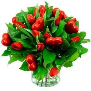 Boeket liefdes tulpen bestellen of bezorgen online
