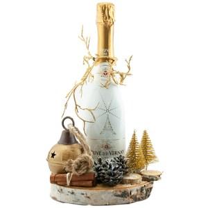 Bubbels met kerst decoratie bestellen of bezorgen online