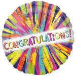 Congrats Painterly Burst 45cm bestellen of bezorgen online