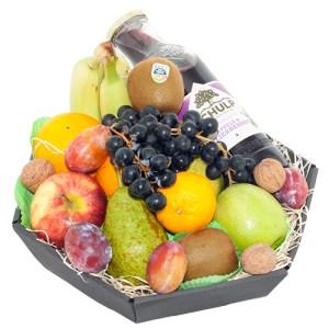 Fruitmand met grote sap bestellen of bezorgen online