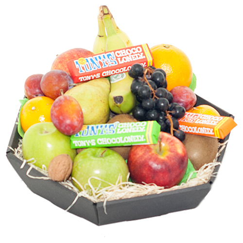 Fruitmand tony chocolonely bestellen of bezorgen online