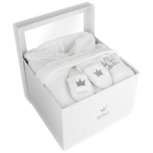 Geboorte cadeau BamBam grijs/wit bestellen of bezorgen online